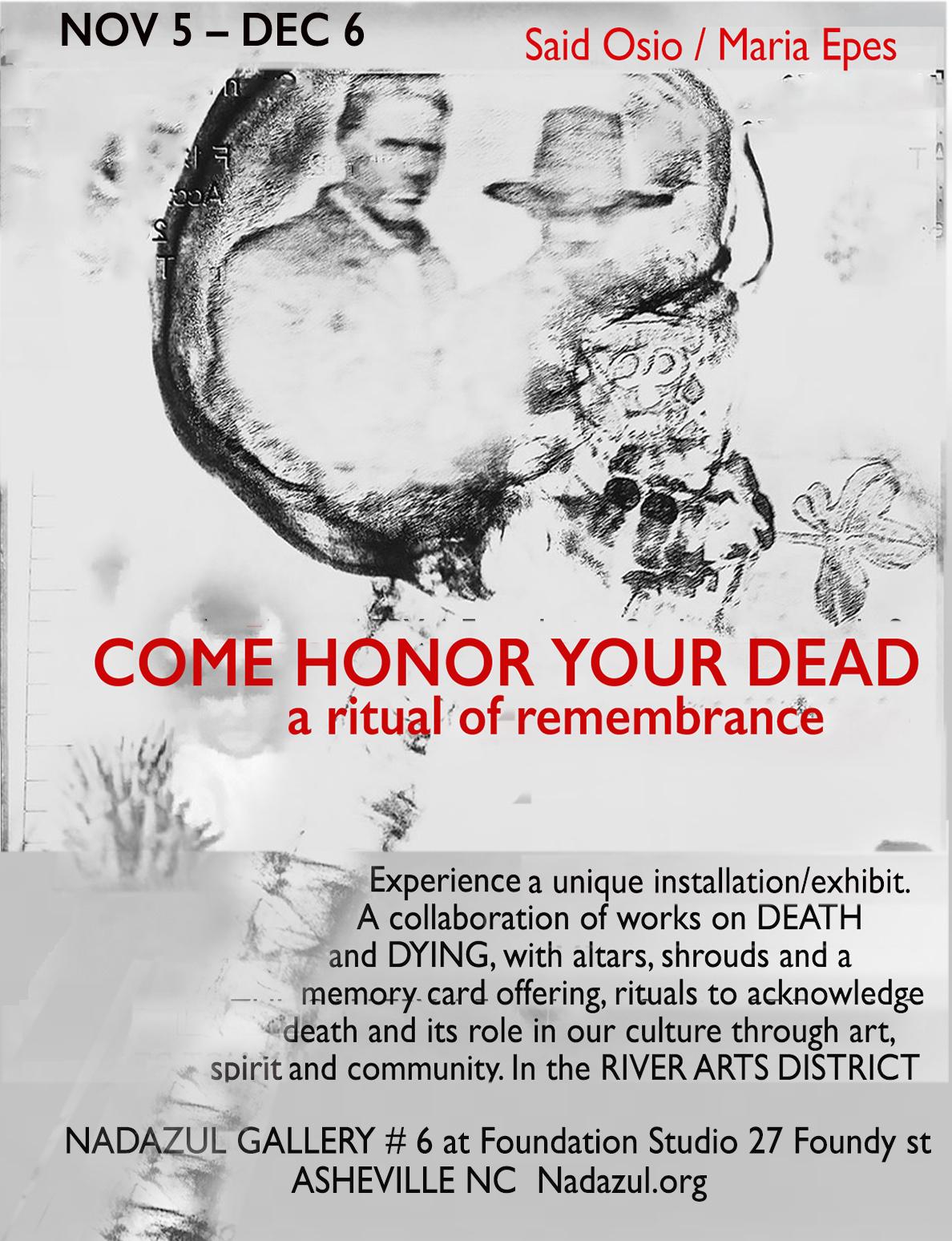 A memorial to loss